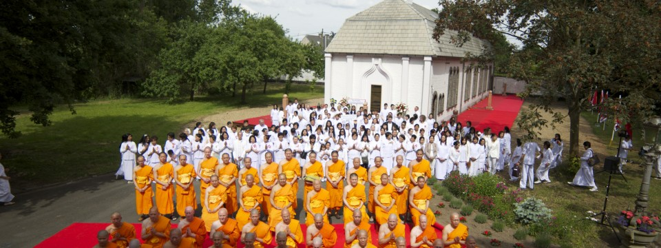 Monk Ordination Program 2015